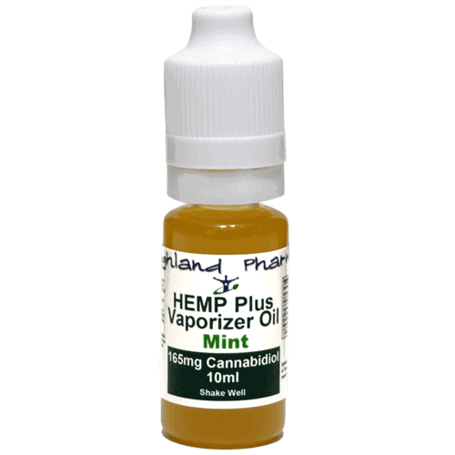 10ml Hemp Plus Vaporizer Oil - 165mg Mint