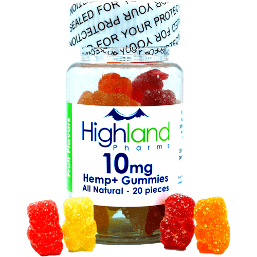 Highland Pharms 10mg CBD Gummies