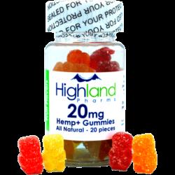 Highland Pharms 20mg CBD Gummies