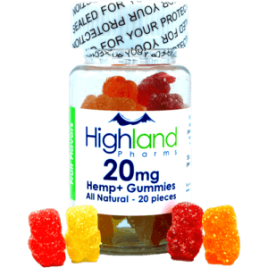 Highland Pharms 20mg CBD Gummies